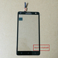 Black High Quality Front Glass Lens Panel Touch Screen Digitizer For Lenovo S856 S810T 4G Mobile