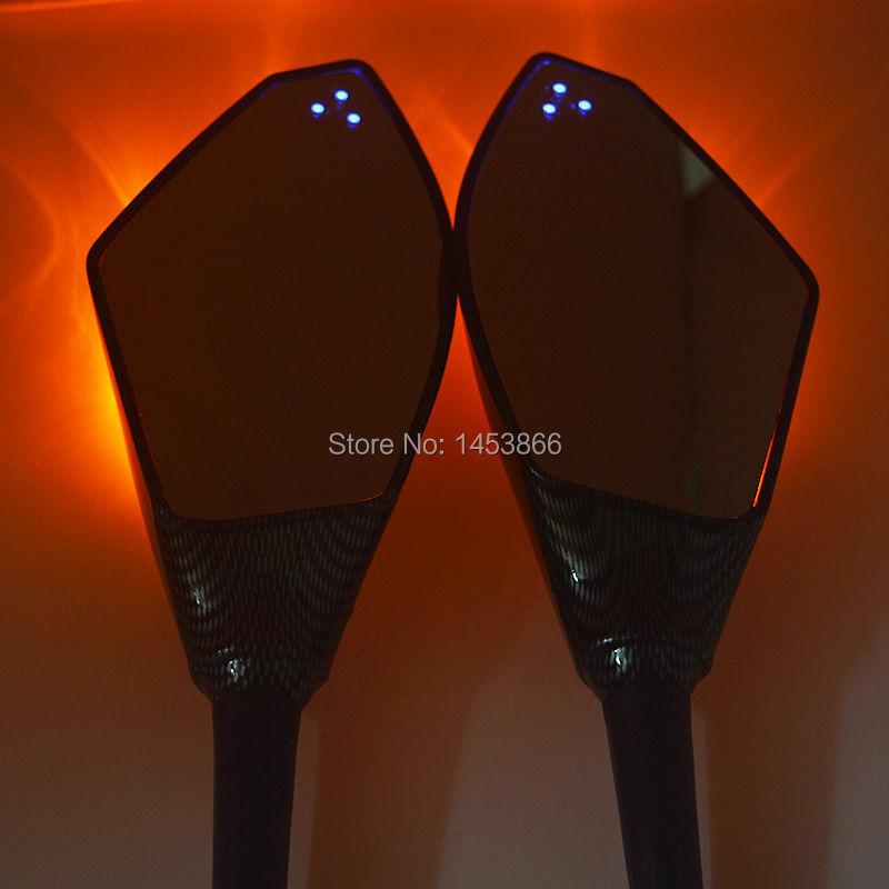 Мотоцикл сигнала поворота интегрированы зеркало для YAMAHA YZF-R1 R1 1998 1999 2000 2001 R6S R6 из светодиодов поворотов зеркала
