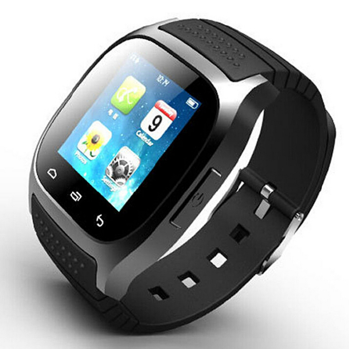 New 2015 Smart Bluetooth M26 Smart Wrist Watch Phone Mate For IOS Android iphone Samsung HTC LG,Free Shipping(China (Mainland))
