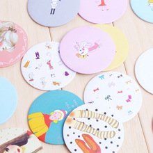 HD T Korea cartoon cute little mirror mirror portable mirror tinplate can be customized advertising Taobao gifts(China (Mainland))