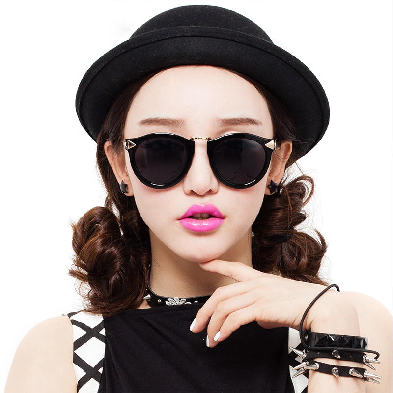 2015 New Brand Sun Glasses Wayfarer Sunglasses Women Coating Female UV400 Shades Coating Mirror Points sun women's Eyewear sport(China (Mainland))