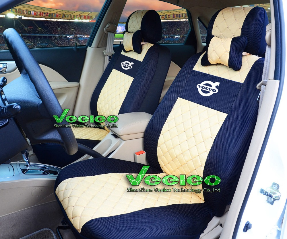2 front car seat covers for all volvo only 2 front seat cover car covers 3d silk breathable. Black Bedroom Furniture Sets. Home Design Ideas