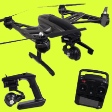 Original Yuneec Typhoon Q500 4K Camera Handheld Gimbal FPV Quadcopter ST10 10ch 5.8G Drone with Camera Double Battery and Case