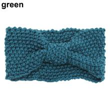 Hot Sale Fashion 2015 Women Girls  Crochet Knitted  Bow Turban Head    Hair Band Winter Ear Warmer Headband  67W3(China (Mainland))