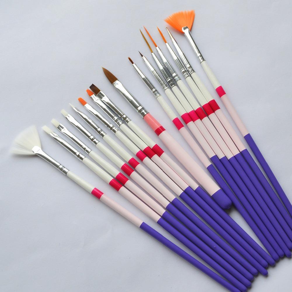 1Professional Nail Art Polish Dot Drawing Pen Brushes Set UV Gel DIY Design Salon Manicure Styling Tools ND142 - Sara Products store