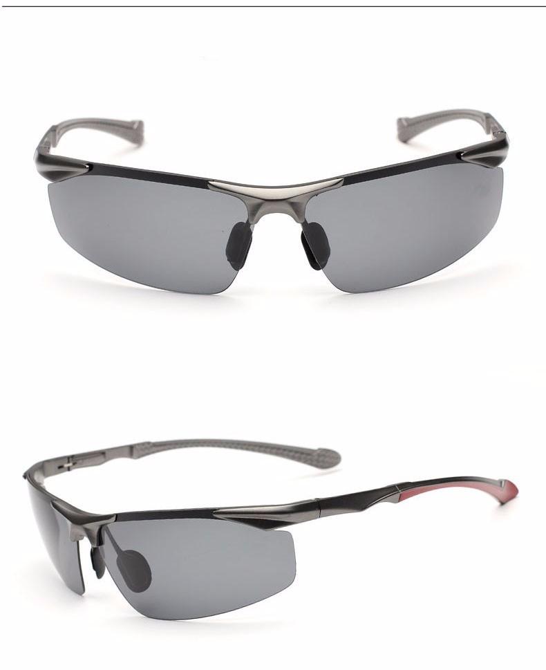 Aluminum Magnesium Men's Polarized Lens Sunglasses Driver Mirror Sun glass Outdoor Sport Goggle for Male Eyewear Oculos For Men