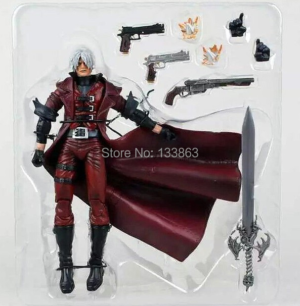 Wholesale for 5 pcs High Quality NECA Dante toys figure, 7 Devil may cry PVC Action Figure Toy, Chritmas Gift, doll for boys<br><br>Aliexpress