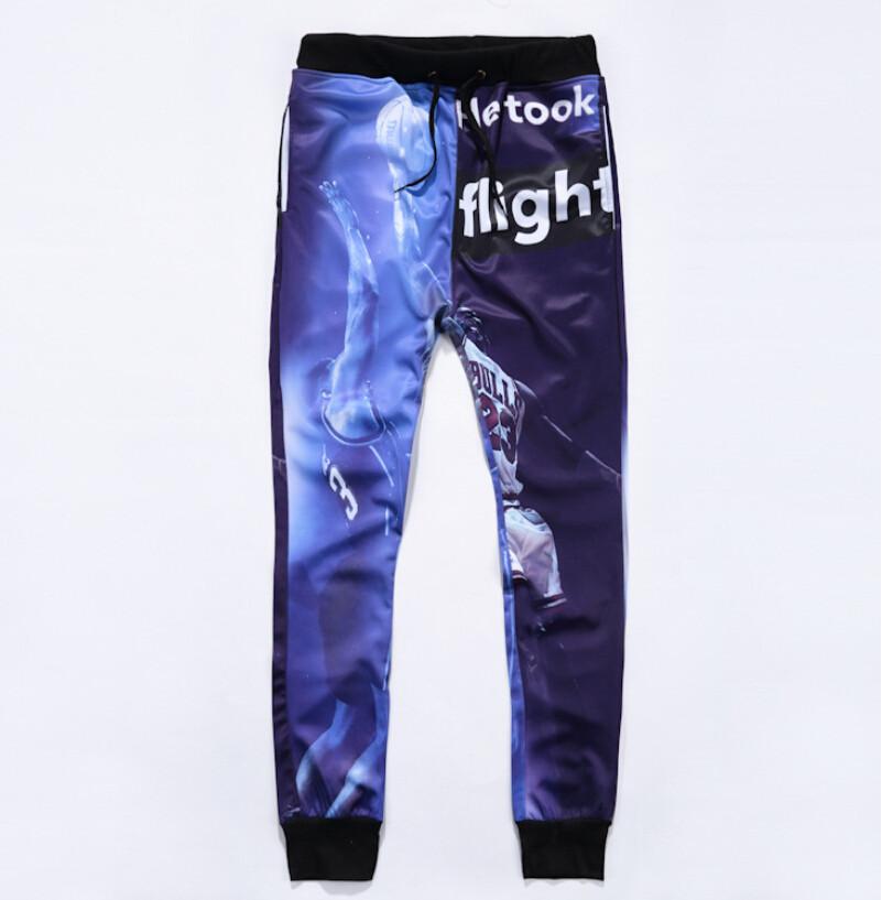 משלוח חינם! 3D טריינינג דאנק הפולקלור אדידס גברים/נשים / אופנה harajuku מזדמנים מכנסיים+קפוצ 'ונים 2 יח' חליפה בתוספת גודל M-XXL