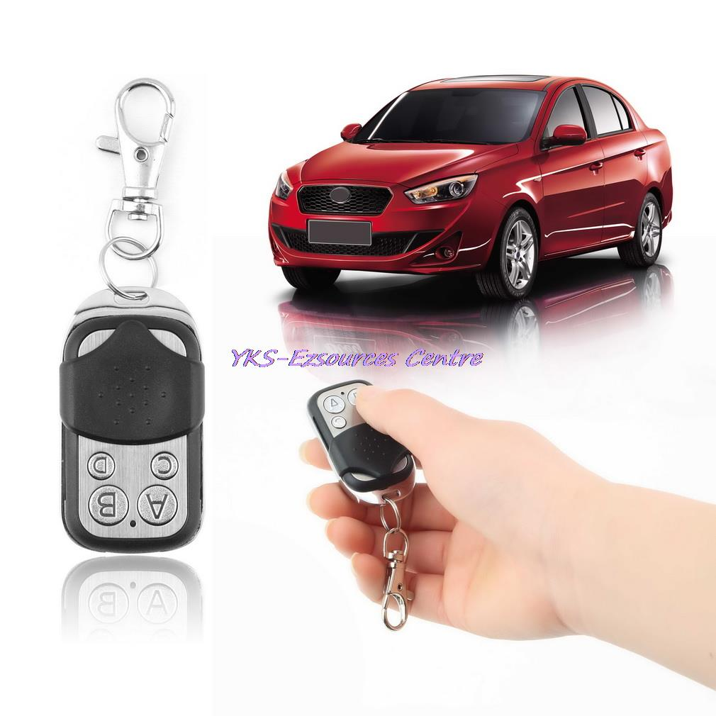 1pc Electric Cloning Universal Gate Garage Door Remote Control Fob 433mhz Key Fob(China (Mainland))