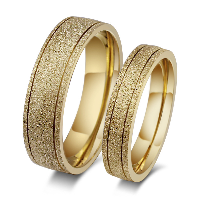 new frosted ring 18k gold engagement wedding