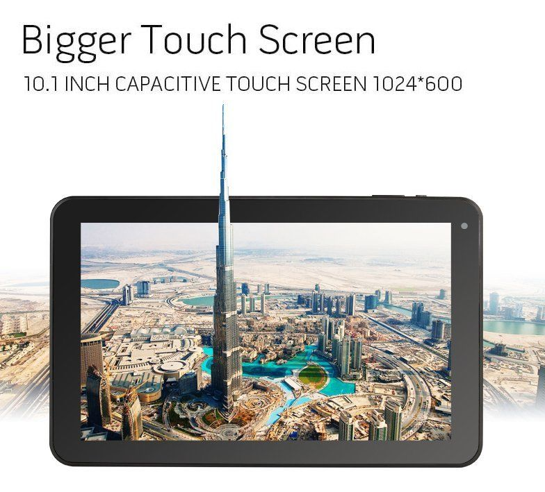 10.1 Android 4.4 Allwinner A33 4-Core 16GB Dual Camera WIFI Bluetooth Tablet PC<br><br>Aliexpress