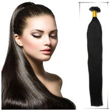 2pcs/lot Brazilian Human Nail Tip U Tip Hair Extension 100g 24Inch Aplique De Cabelo Humano Natural Shedding And Tangle Free