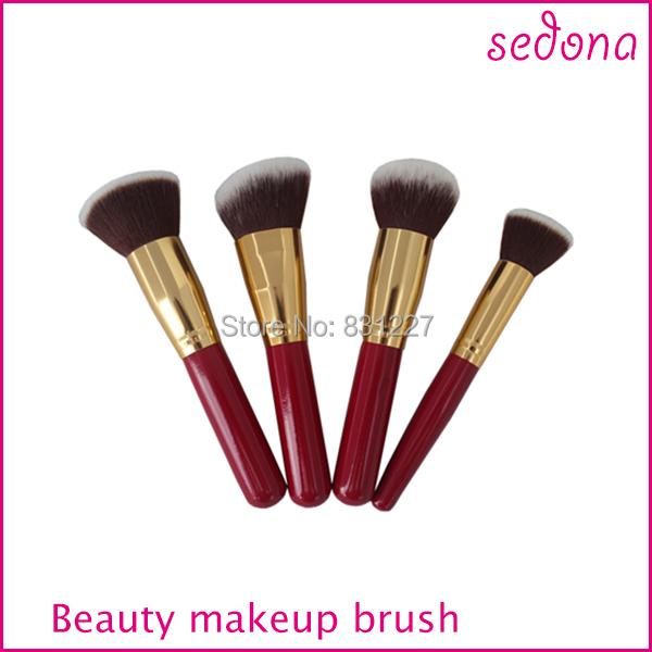 4 шт. косметика комплект популярные бразилия щетку для макияж кисти профессиональным ...