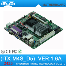 Cheap Mini Itx industrial motherboard Intel Atom D425 5*COM DC12V LVDS POS Machine Industrial Motherboards M4S_D5(China (Mainland))