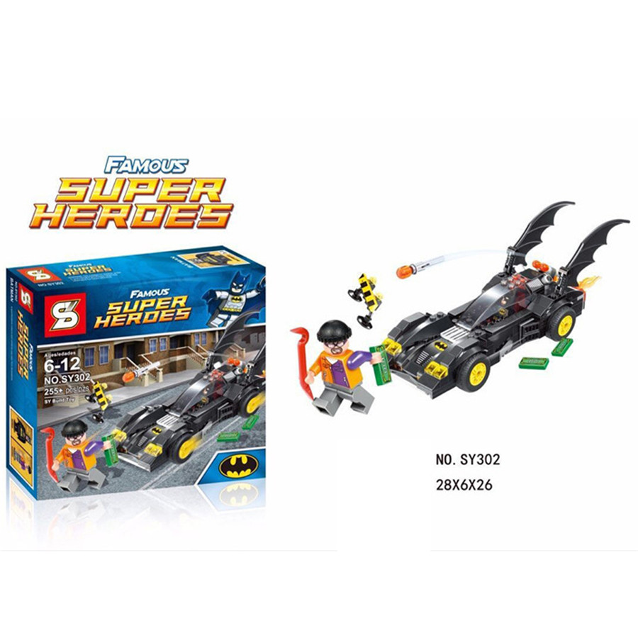 1pcs/lot Batman Chariots Series Kid Baby Toy Mini Figure Building Blocks Sets Model Toys Minifigures Brick<br><br>Aliexpress