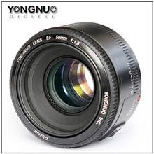 Buy Stock!YONGNUO YN50mm f1.8 YN EF 50mm f/1.8 AF Lens YN50 Aperture Auto Focus Canon EOS DSLR Cameras for $46.99 in AliExpress store