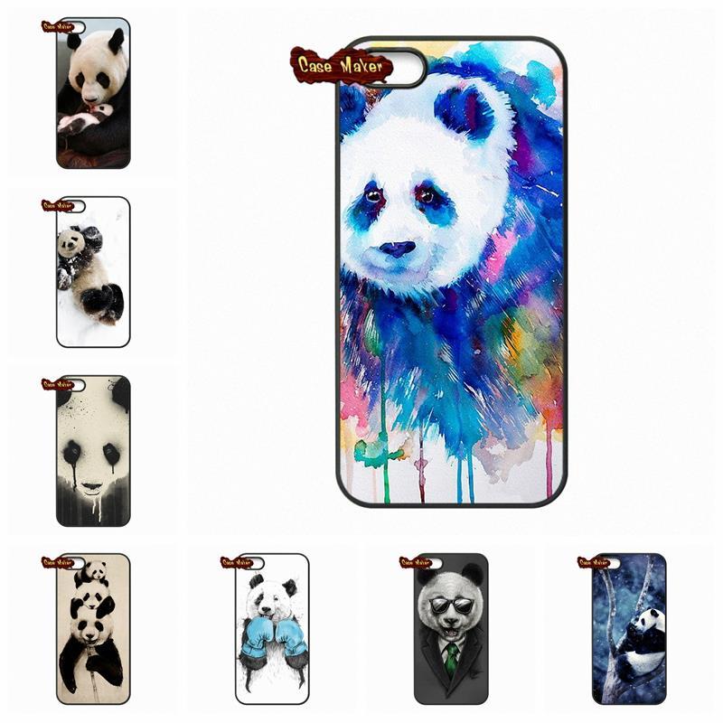 For Samsung Galaxy 2015 2016 J1 J2 J3 J5 J7 A3 A5 A7 A8 A9 Pro Funny Cute Cartoon Panda China cover case(China (Mainland))