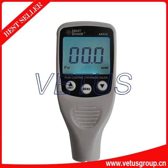 AR932 Digital Coating Thickness Gauge with Measurement Range 0~1500um<br>