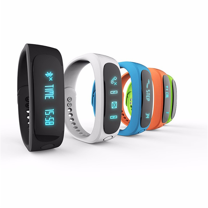 E02 Smart Wristband Bluetooth Waterproof Sport Smartband Bracelet Pedometer Fitness Tracker For IPHONE Android Smartphone(China (Mainland))
