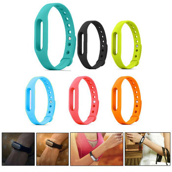 1PCS Xiaomi Mi band Smart Wristband Silicone Replace Belt Strap Mi Band Bracelet Replacement Band Accessories