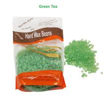 Buy 300g Solid Hard Wax Beans Strip Depilatory Hot Film Hard Wax Pellet Waxing Bikini Hair Removal Bean Green Tea Flavor for $8.86 in AliExpress store