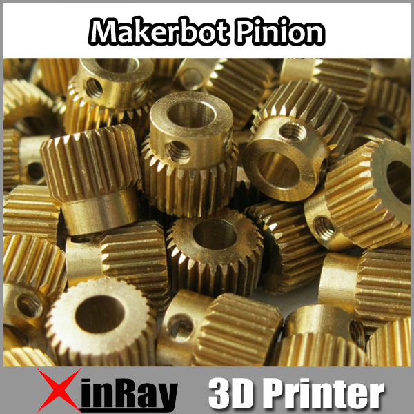 Free shipping 5pcs/lot MK Pinion 3D Printer Pinion for Makerbot 26 PCS Teeth 3 D Printer Accessories High Quality 3DH-009(China (Mainland))