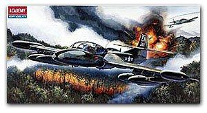 "ACADEMY 12461/1663 A-37B ""Dragonfly"" light attack aircraft(China (Mainland))"