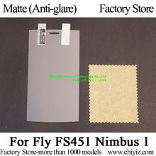 Matte Anti-glare Screen Protector Guard Cover protective Film For Fly FS451 Nimbus 1