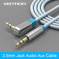 Vention 3 5mm 90 Degree Right Angle headphone cable audio aux cables male to male digital