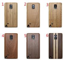 Для Samsung Galaxy Note 4 люкс 2 в 1 дерево деревянный чехол мода твердый переплет чехол прохладный сотовый телефон fundas чехол крышка