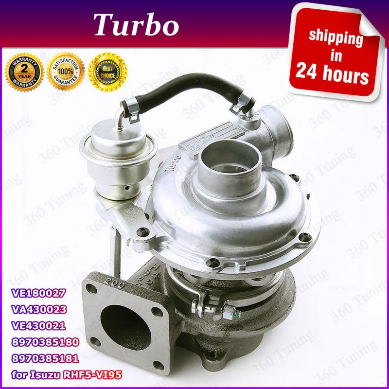 RHB5 8970385180 Turbocharger for Opel Monterey ISUZU Jackaroo Trooper 3.1 RHF5 Turbo Charger VE430021 VE180027 VI95 113HP 4JB1TC(China (Mainland))