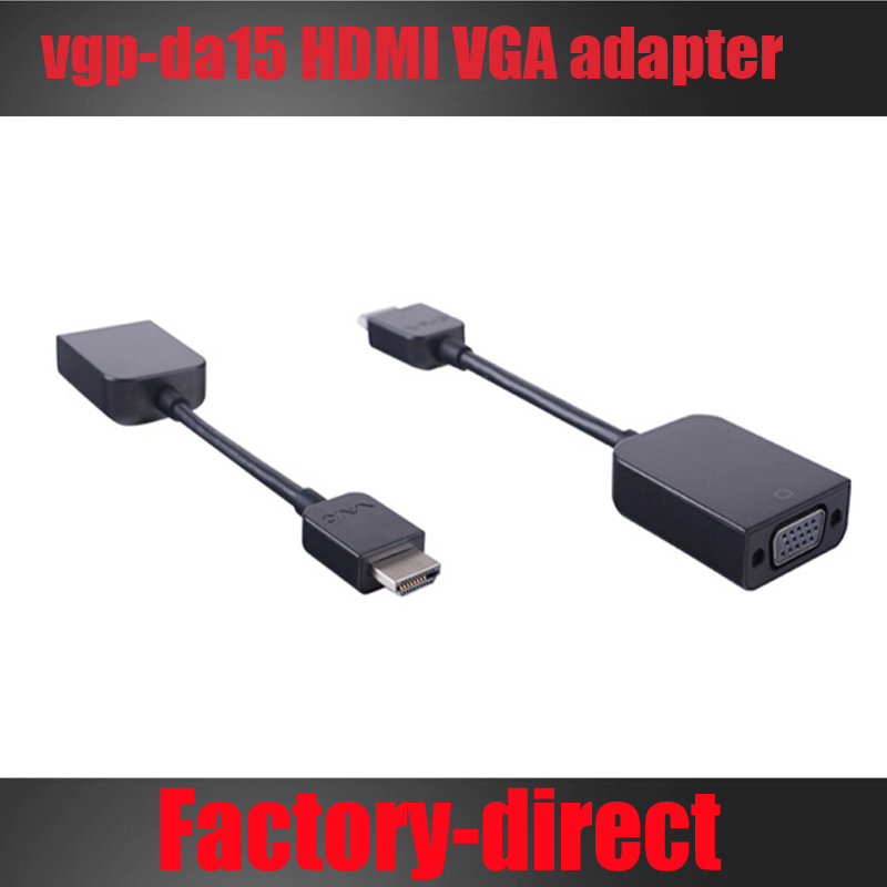 Free shipping 1PCS/lot for Sony vgp-da15 HDMI VGA adapter PRO11 / fit13 /TAP13 / Pro13 projector(China (Mainland))