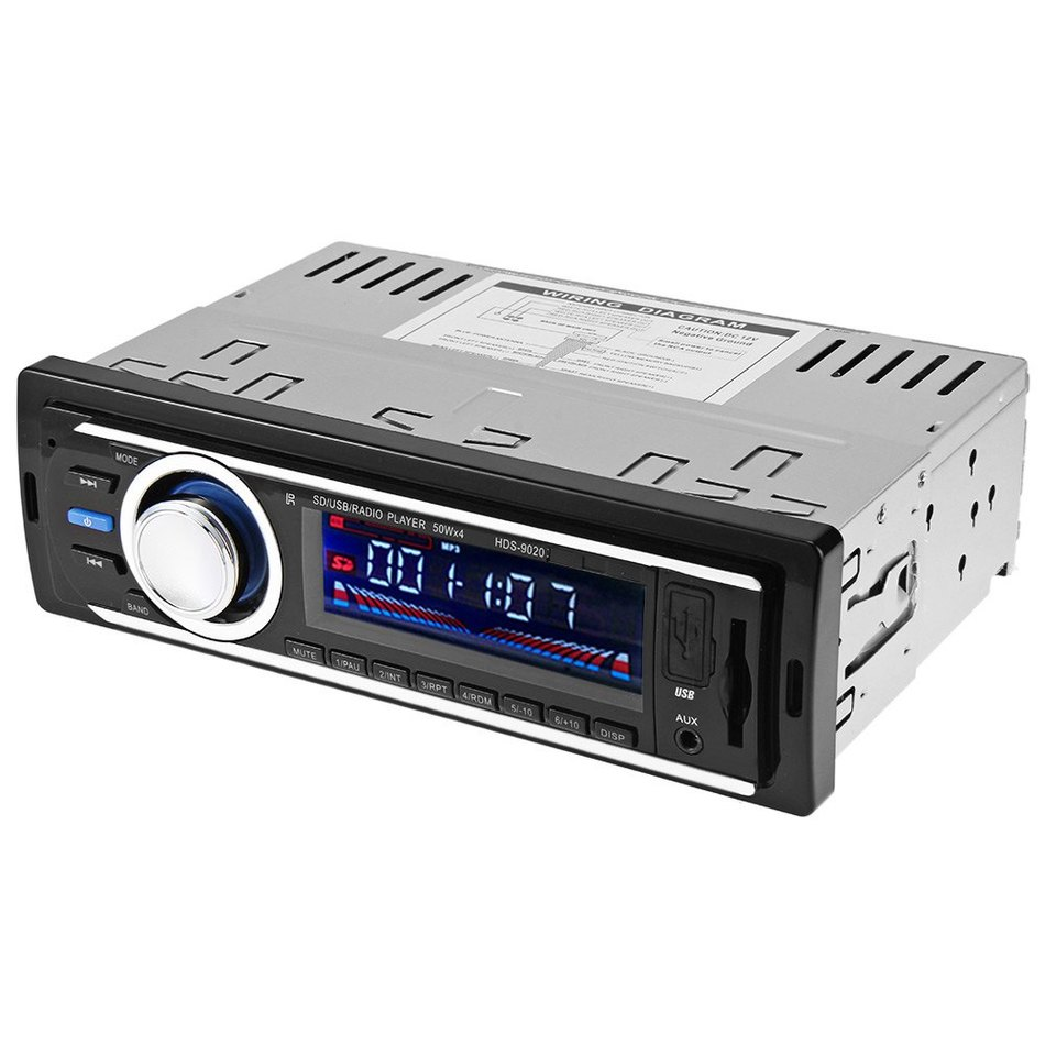 2126 Car Audio Stereo FM Radio 12V USB SD MP3 Player AUX with Remote Control Support for three-band radio store FM1-FM2-FM3(China (Mainland))