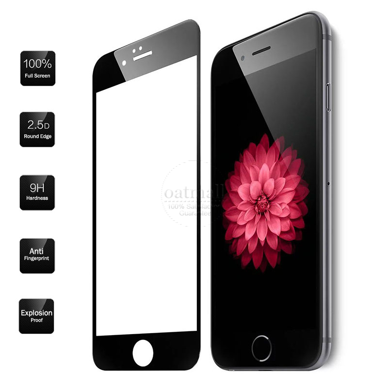0.26mm Full Screen Protection Tempered Glass For Apple iPhone 6S plus Screen Protector Film On the For iPhone 6 Plus 5.5 inch 9H(China (Mainland))
