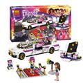 Бела 10498 Друзья Девушки Livi's Pop Star House 41135 Строительные Kit Набор Блоков 619 ШТ. Minifigures Образования Игрушки Для дети