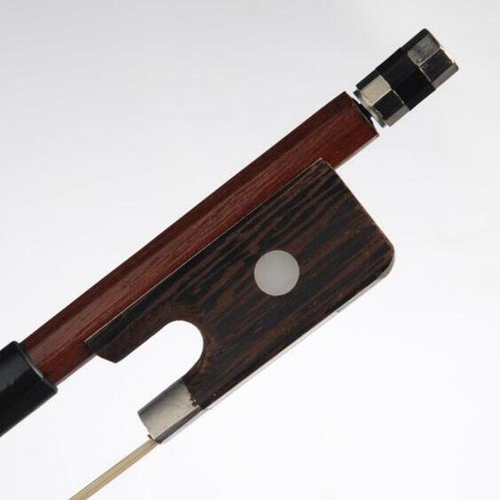 4/4 3/4 1/2 1/4 1/8 Size Durable Stable Cello Bow Round Stick Brazil Wood Horsehair String For Violincello Bow Parts Accessories