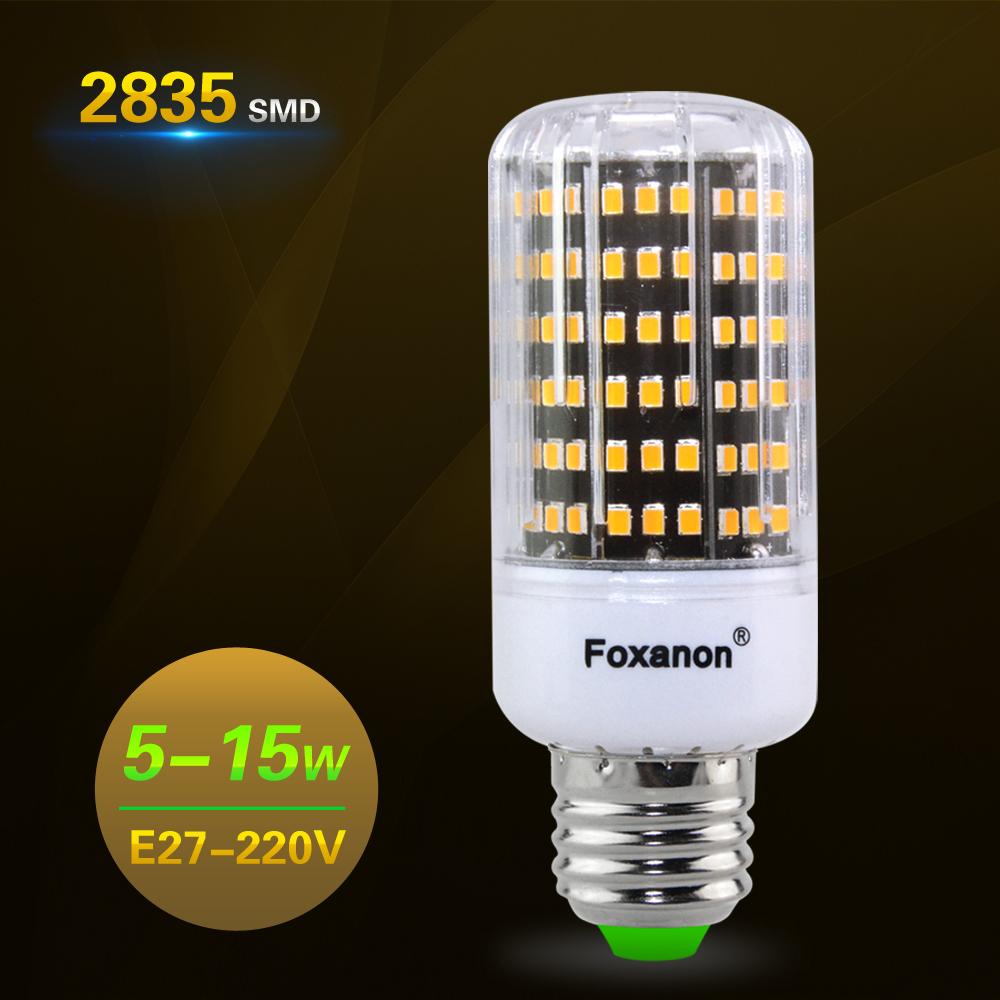 1PCS 2835 SMD Led Bulb Lamp E27 5W 7W 9W 10W 12W 15W Corn Lamp 220V Lampada Hotel Lighting Longer Service Life Than SMD5730 4014<br><br>Aliexpress