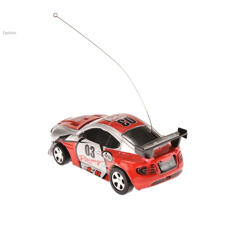 Multicolor Can Mini Speed RC Radio Remote Control Micro Racing Car Toy Gift 54(China (Mainland))