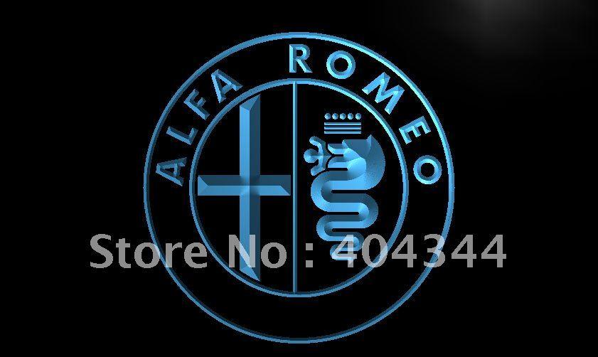 LG146- Alfa Romeo Car Services Parts LED Neon Light Sign(China (Mainland))