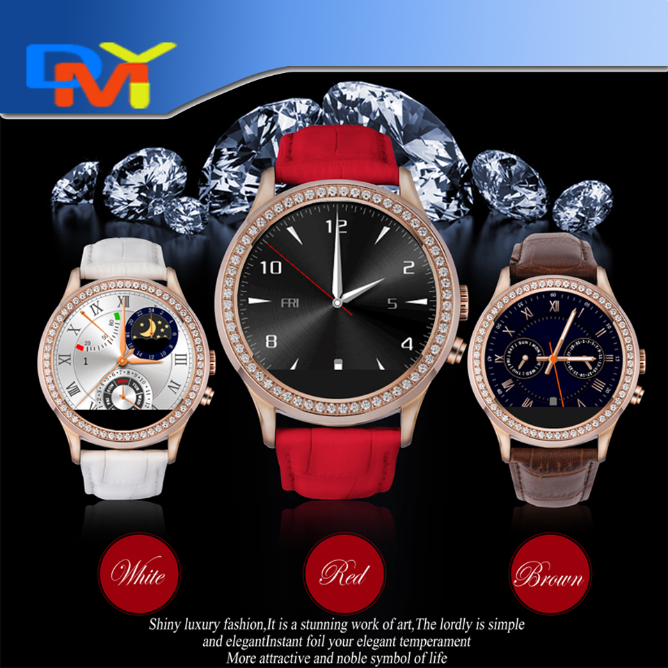 Perfect 1.22 Touchscreen NO.1 D2 Smartwatch Phone MTK2502 Waterproof Smart Watch Phone For Android IOS Heart Rate Monitor<br><br>Aliexpress