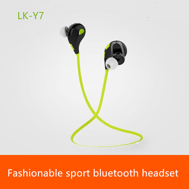 LK Y7 Bluetooth earphone stereo music font b headphone b font Mini wireless music earphone font