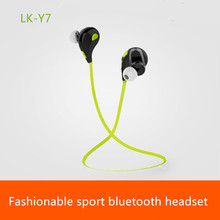 LK-Y7 Bluetooth earphone stereo music headphone Mini wireless music earphone sports running earphone with Microphone