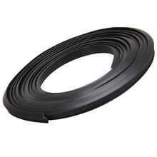 2.2m x 10mm Universal Car Door Rubber Seal Frame Weatherstrip Roll Black Grey White Car Door Window Noise Rubber Strip(China (Mainland))
