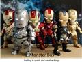The Avengers Super Hero Marvel Iron Man 3 MK 6 3 MK 42 10 cm PVC