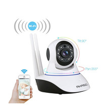 Pan / Tilt Wireless IP Camera Wifi 720P HD CCTV Home P2P Security Surveillance Two-Way Audio support 32GB SD Card Mobile APP - DragonTouch Store store