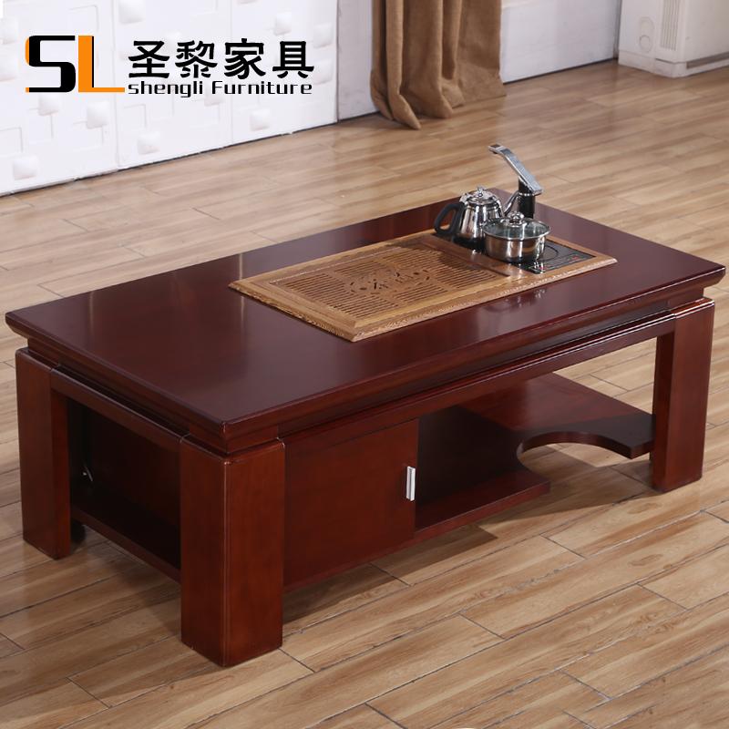 Online kopen wholesale salontafel mahonie uit china - Table de salon rouge ...