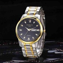 Men watch top Brand Luxury Lovers' Couple Watches reloj hombre Watch Women Gold Stainless Steel Quartz Wristwatch Montre Homme