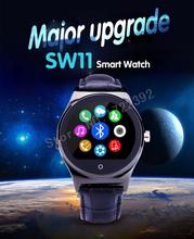2015 new fashion Smart Watch sw11 Waterproof with heart rate SIM card TF mp3 mp4 compatible with apple and Android Phones