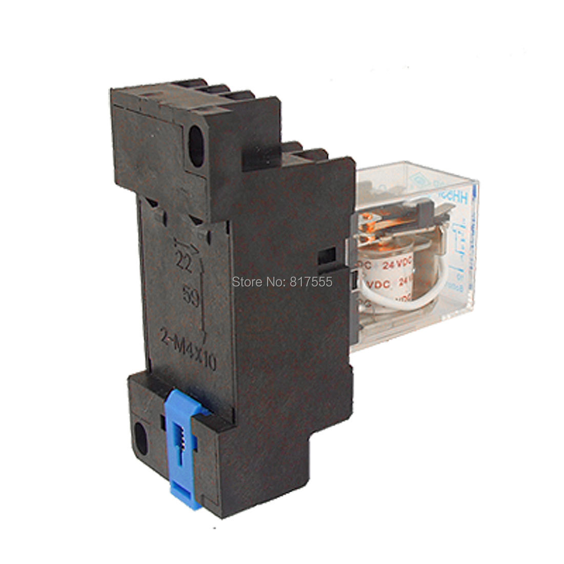 AC 220V Coil 3PDT General Purpose Relay HH53P 11 Pin w Base Socket<br><br>Aliexpress