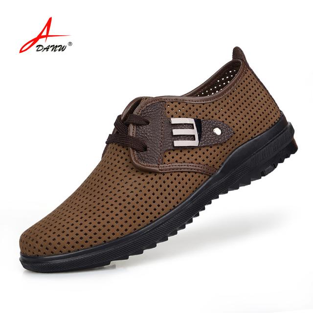 37 - 47 марка свободного покроя натуральная кожа мужчины обувь мужчины квартиры обувь ...
